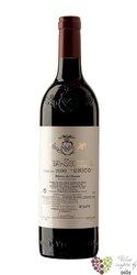 "Ribera del Duero tinto "" UNICO "" Do 2003 bodegas Vega Sicilia   0.75 l"