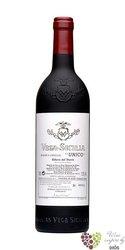 """Ribera del Duero tinto """" UNICO Reserva Especiel 1991 - 94 - 99 """" Do Vega Sicilia       0.75 l"""