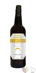 "Sherry de Jerez Pedro Ximenez "" Campero "" Do grupo Garvey 17% vol.   0.75 l"