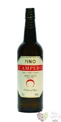 "Sherry de Jerez fino seco "" Campero "" Do grupo Garvey 18.5% vol.   0.75 l"