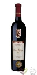 Modrý Portugal 2013 pozdní sběr vinařství Spielberg  0.75 l
