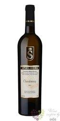 """Chardonnay """" Virgin """" 2013 výběr z hroznů vinařství Spielberg  0.75 l"""