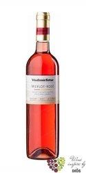 Merlot rosé 2017 pozdní sběr z vinařství Vladimír Tetur  0.75 l