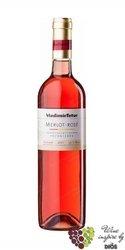 Merlot rosé 2014 jakostní odrůdové víno z vinařství Vladimír Tetur V.Bílovice 0.75l