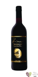 Kinor Sacramental sweet red Kiduš 2015 Judean Hills Barkan winery    0.75 l