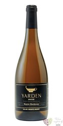 "Chardonnay Katzrin "" Yarden "" 2014 Galilee Kosher wine Golan Heights winery  0.75 l"