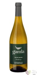 "Chardonnay "" Gamla "" 2015 Galilee Kosher wine Golan Heights winery  0.75 l"