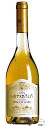 Tokaji Aszú 3 puttonyos 1999 Hetszolo winery    0.50 l