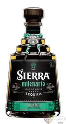 "Sierra Milenario "" Aňejo "" 100% of Blue agave Mexican tequila 41.5% vol.  0.70 l"