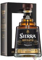 "Sierra Milenario "" Extra Aňejo "" 100% of Blue agave Mexican tequila 40% vol.0.70 l"