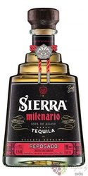 "Sierra Milenario "" Reposado "" 100% of Blue agave Mexican tequila 41.5% vol.  0.70 l"