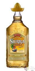 "Sierra "" Gold "" original Mexican mixto tequila 38% vol.  1.00 l"