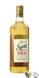 "Sauza "" Gold "" Hecho en Mexico con Agave Azul mixto tequila 38% vol.    0.05 l"