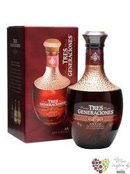 """Sauza Tres Generaciones """" Aňejo """" 100% of Blue agave Mexican tequila 38% vol. 0.70 l"""