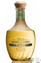"""Sauza Tres Generaciones """" Reposado """" 100% of Blue agave Mexican tequila 40% vol.    0.70 l"""