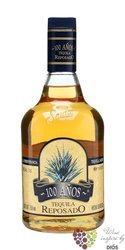 "Sauza "" 100 aňos Reposado "" 100% of Blue agave Mexican tequila 40% vol.    0.70l"