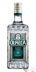 """Olmeca """" Blanco """" Silver classico Hecho en Mexico Arandas mixto tequila 38% vol.    0.05 l"""