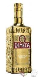 """Olmeca """" Supremo Pure Gold edition """" Hecho en Mexico Arandas mixto tequila 38%vol.    0.70 l"""