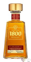 """José Cuervo reserva 1800 """" Reposado """" 100% of Blue agave Mexican tequila 38% vol.   0.70 l"""