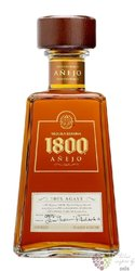 "José Cuervo reserva 1800 "" Ańejo "" 100% of Blue agave Mexican tequila 38% vol. 0.70 l"