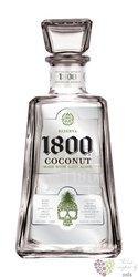 "José Cuervo reserva 1800 "" Coconut "" 100% of agave tequila 35% vol.   0.70 l"