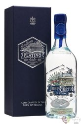 "Jose Cuervo "" Platino ""  100% of Blue agave tequila 40% vol.  0.70 l"