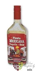 "Fiesta Mexicana "" Gold "" original Mexican mixto tequila 38% vol.    0.70 l"