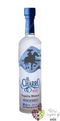 "El Charro "" Blanco "" 100% of Blue agave Mexican tequila 40% vol.    0.05 l"