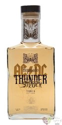 "AC/DC Thunder Struck "" Reposado "" Blue agave Mexican tequila 40% vol.  0.70 l"