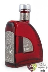 "Aha Toro "" Aňejo Red "" 100% of Blue agave Mexican tequila 40% vol.    0.35 l"