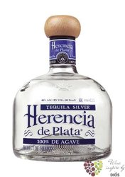 "Herencia de Plata "" Blanco "" 100% of Blue agave Mexican tequila 38% vol.   0.05l"
