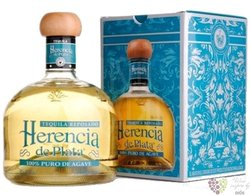 "Herencia de Plata "" Reposado "" 100% of Blue agave Mexican tequila 38% vol. 0.70l"