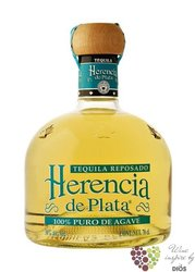"Herencia de Plata "" Reposado "" 100% of Blue agave Mexican tequila 38% vol.    0.05 l"