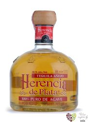 "Herencia de Plata "" Aňejo "" 100% of Blue agave Mexican tequila 38% vol.    0.05l"