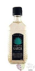 "Garcia "" Silver "" original Mexican mixto tequila 38% vol.    0.05 l"