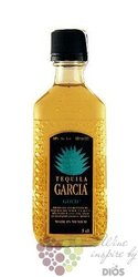 "Garcia "" Gold "" original Mexican mixto tequila 38% vol.    0.05 l"
