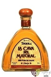 La Cava Mayoral � A�ejo � 100% of Blue agave Mexican tequila 38% vol.    0.70 l