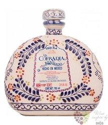 "la Cofradia reposado "" edition Ceramic bottle "" 100% of Blue agave Mexican tequila 38% vol.  0.70 l"