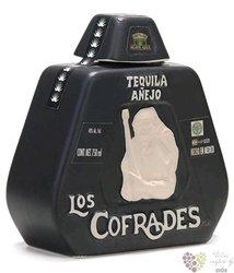 """la Cofradia aňejo """" edition los Cofrades """" 100% of Blue agave Mexican tequila 40% vol.  0.70 l"""