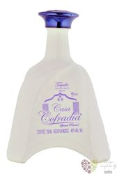 "Casa Cofradia blanco "" Special reserve "" 100% of Blue agave tequila 38% vol.  0.70 l"