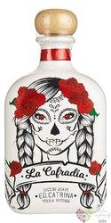 """la Cofradia reposado """" ed.Catrina """" Mexican agave tequila 38% vol.  0.70 l"""