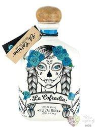 """la Cofradia blanco """" ed.Catrina """" Mexican agave tequila 38% vol.  0.70 l"""