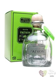 "Patron "" Silver "" 100% of Blue agave Mexican tequila 40% vol.   0.35 l"