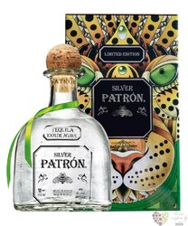 """Patron limited """" Silver """" 100% of Blue agave Mexican tequila 40% vol.  0.70 l"""