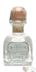 "Patron "" Silver "" 100% of Blue agave Mexican tequila 40% vol.   0.05 l"