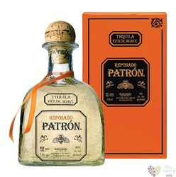 "Patron "" Reposado "" 100% of Blue agave mexican tequila 40% vol.  1.00 l"