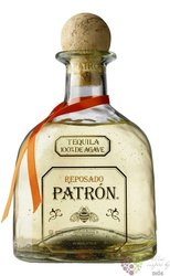 "Patron "" Reposado "" 100% of Blue agave mexican tequila 40% vol.  0.70 l"