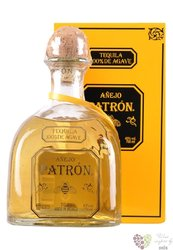 "Patron "" Ańejo "" 100% of Blue agave Mexican tequila 40% vol.   1.00 l"