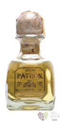 "Patron "" Ańejo "" 100% of Blue agave Mexican tequila 40% vol.   0.05 l"