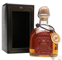 "Patron Cask collection "" Sherry cask "" 100% of Blue agave Mexican  Ańejo tequila 40% vol.  0.70 l"
